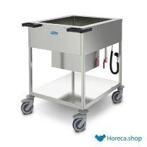 Voedseluitschepwagen met koeling